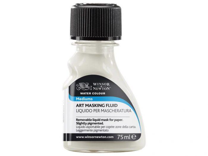Akvarellvärvi meedium Winsor&Newton Art Masking Fluid