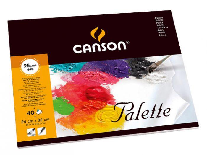 Palett Canson