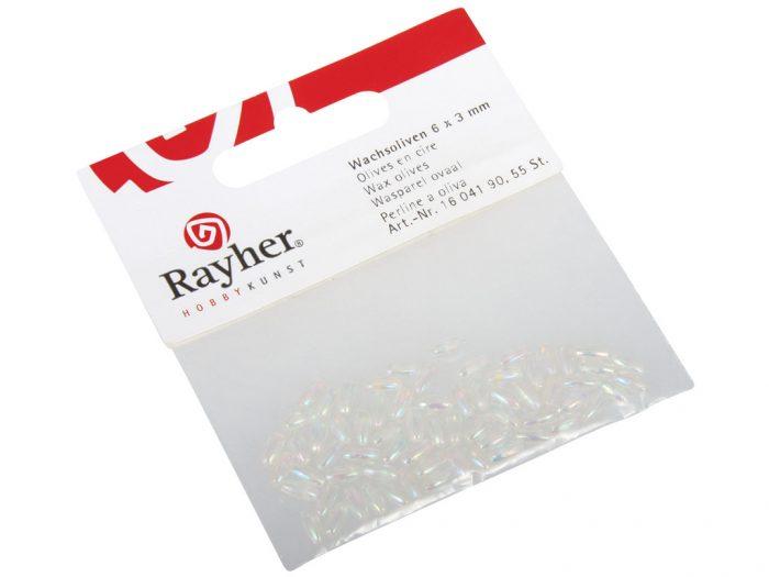 Karoliukai Rayher 6x3mm 55vnt. - 1/2
