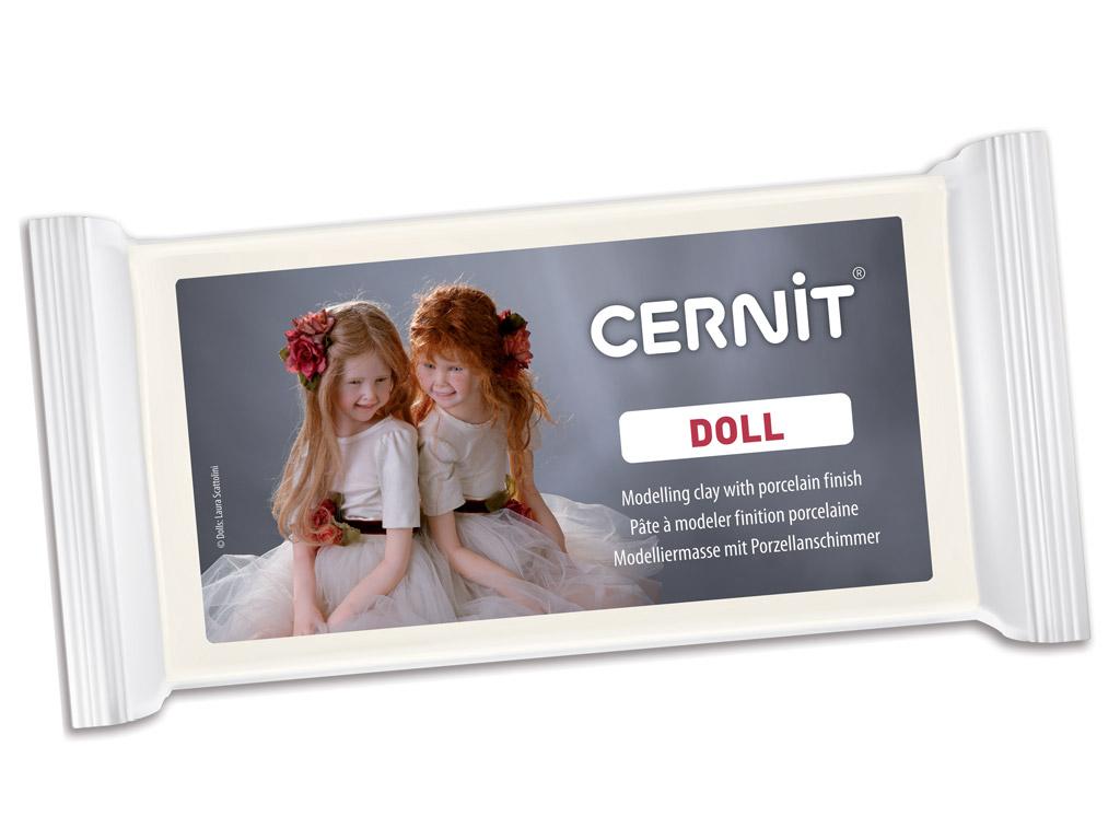 Polimērmāls Cernit Doll 500g 010 white