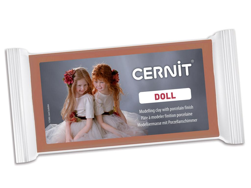 Polimērmāls Cernit Doll 500g 807 caramel