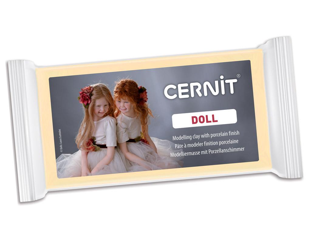 Polimērmāls Cernit Doll 500g 744 almond