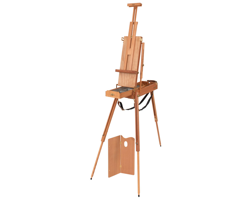 Sketch box easel Mabef M23 small max canvas h=85cm