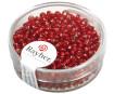 Seemnehelmed 2.6mm hõbetatud sisu 16g 18 punane