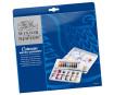Akvareliniai dažai Cotman Palette 10x8ml+teptukas plastikinė dėžutė