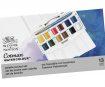 Akvarellvärv Cotman Pocket Plus 12x1/2 nööpi+pintsel plastkarbis
