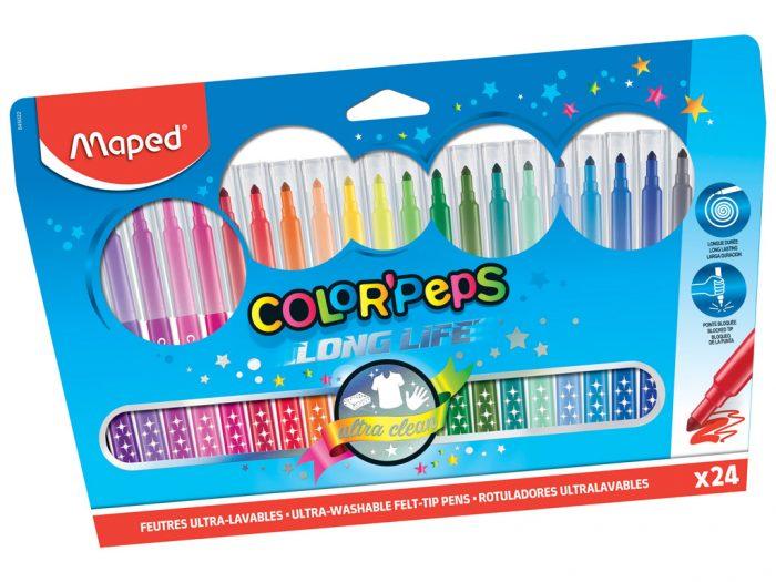 Viltpliiats Maped Color'Peps Long Life - 1/2