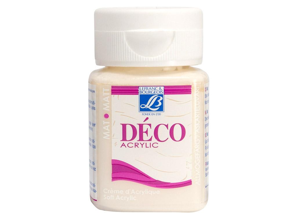 Deco Matt 50ml 821 white sand