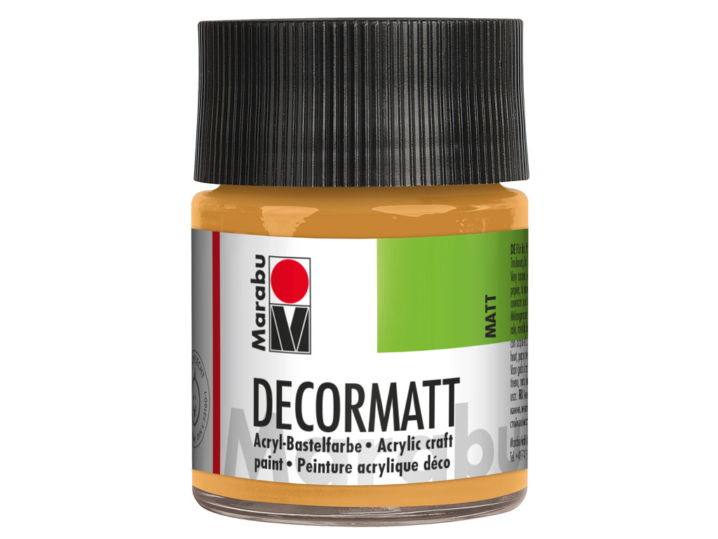 Dekoorvärv Decormatt 50ml 784 metallic-gold