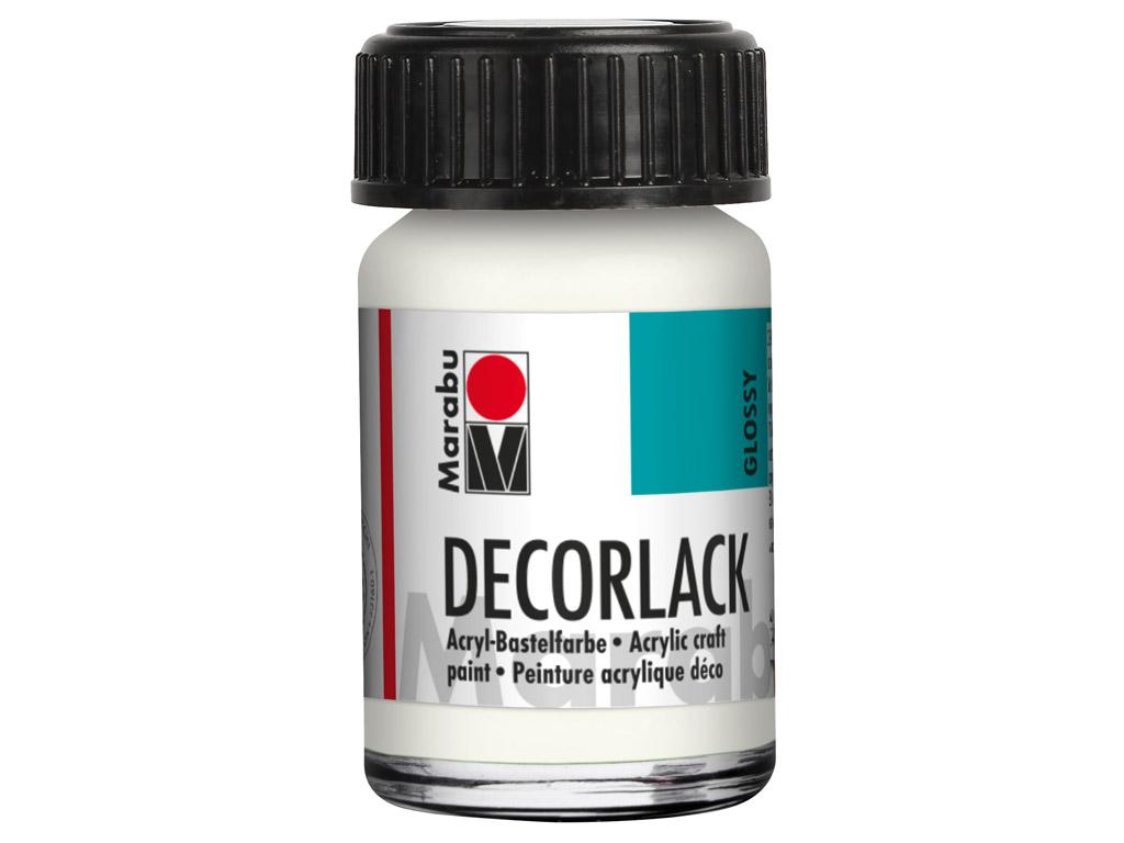 Dekoorvärv Decorlack 15ml 070 white