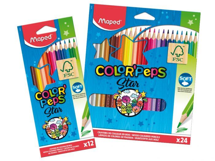 Värvipliiats Maped Color'Peps - 1/2