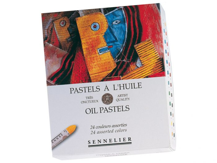 Oil pastels set Sennelier - 1/3