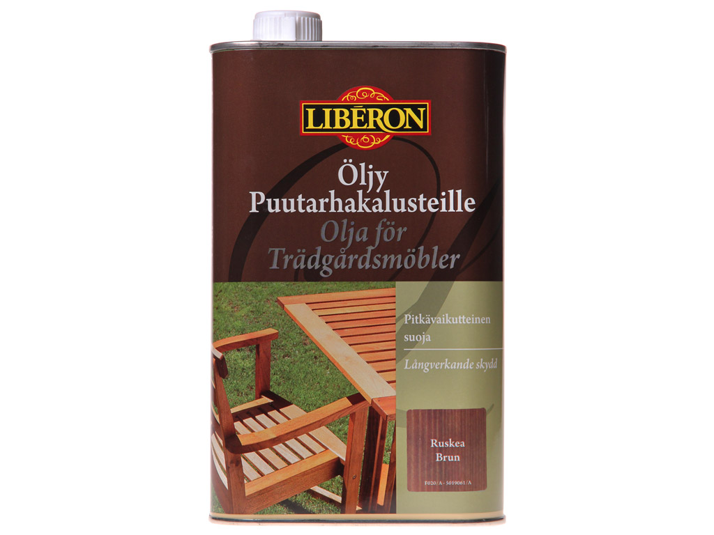 Liboil Liberon 1L aiamööblile pruun