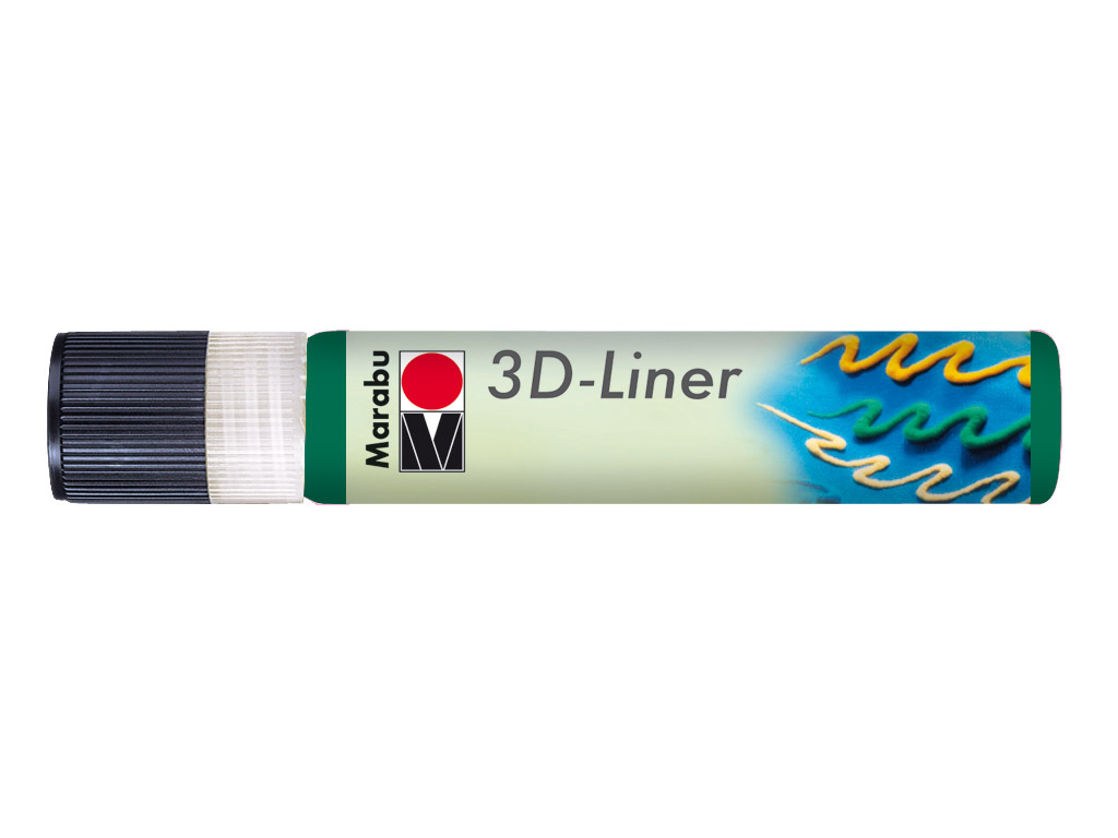 3D Liner Marabu 25ml 667 rich green
