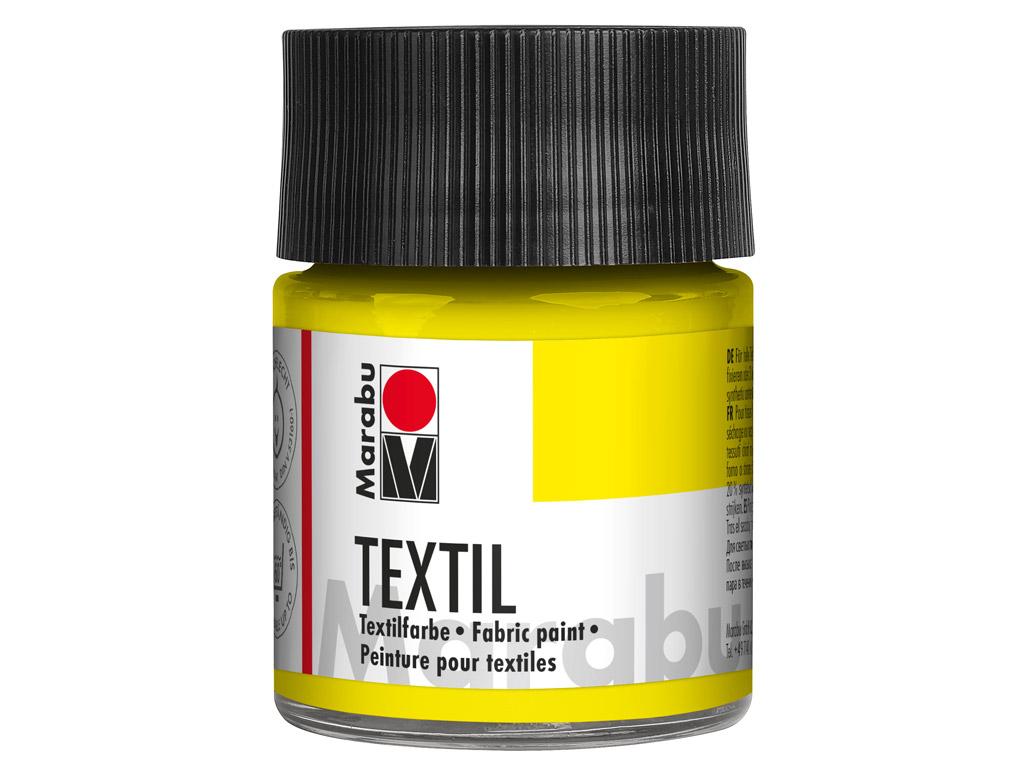Krāsa tekstilam 50ml 020 lemon