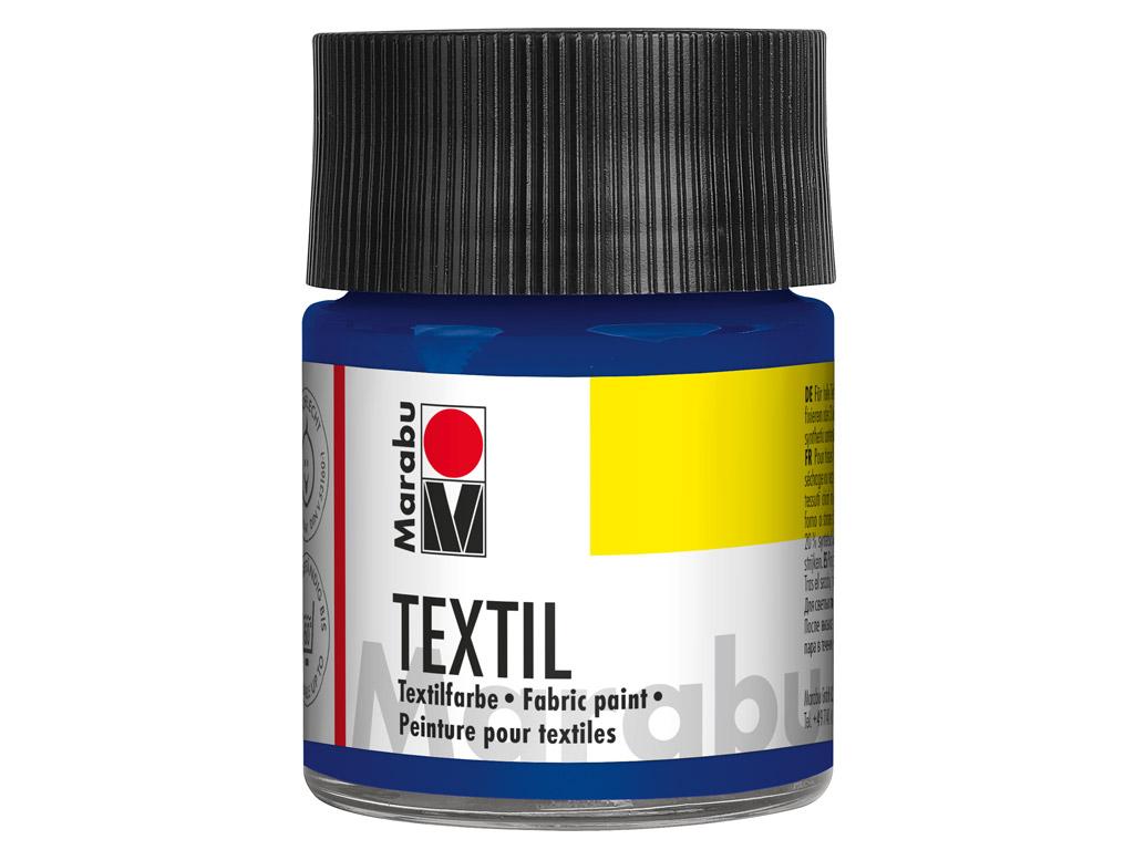 Tekstilės dažai 50ml 052 medium blue