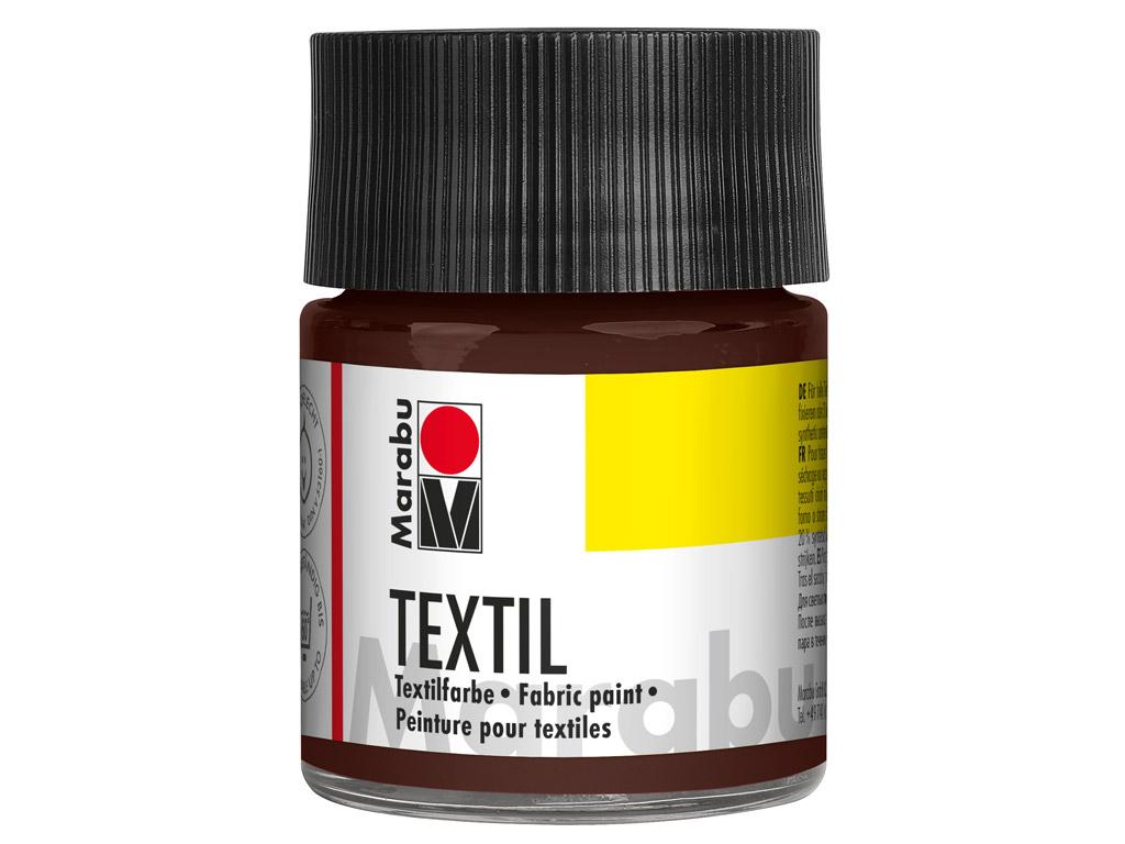 Tekstilės dažai 50ml 045 dark brown