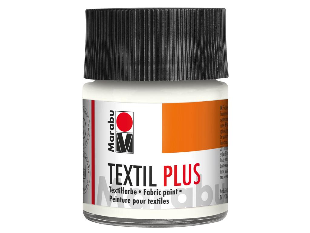 Tekstiilivärv Plus 50ml 070 white