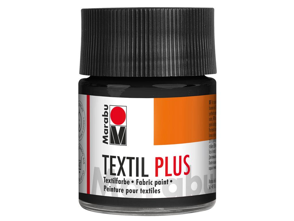 Tekstiilivärv Plus 50ml 073 black