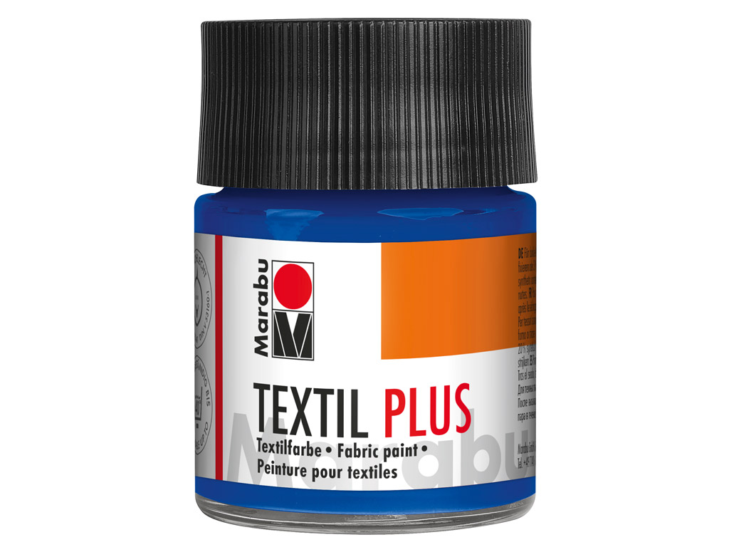 Tekstiilivärv Plus 50ml 055 dark ultramarine