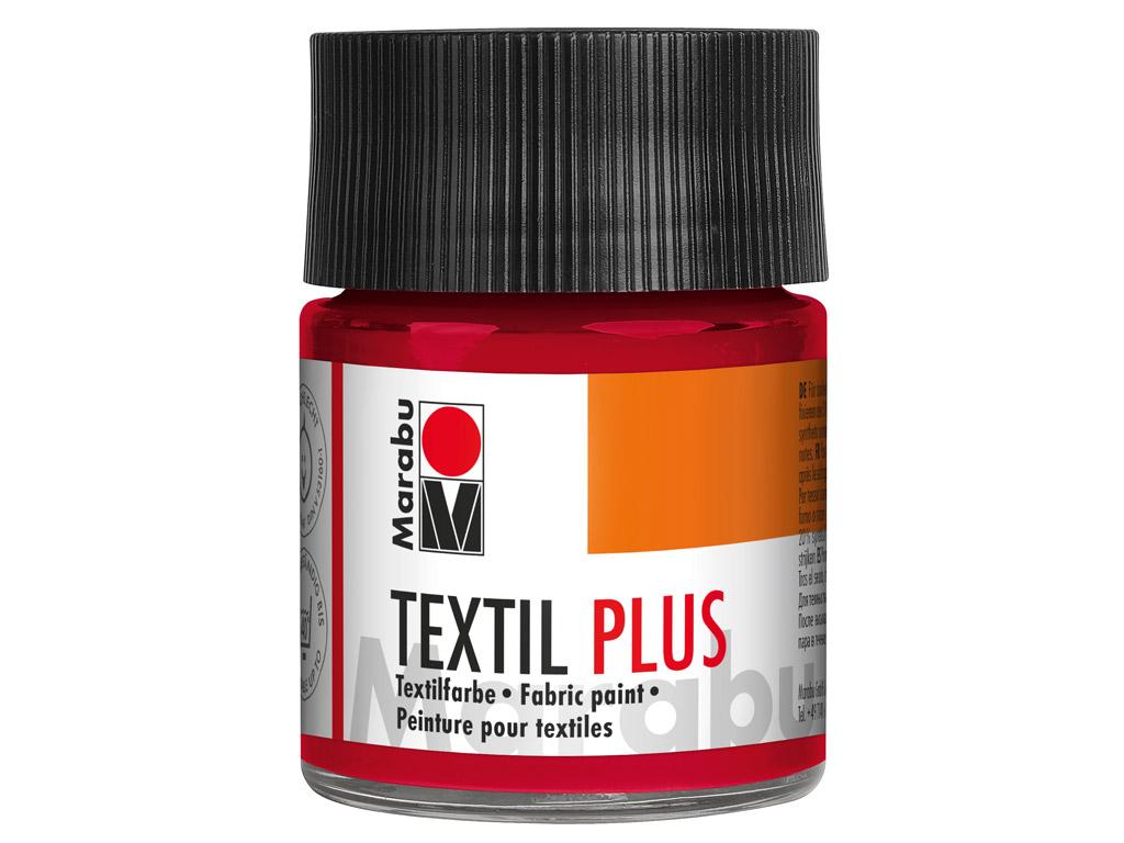 Tekstiilivärv Plus 50ml 032 carmine red