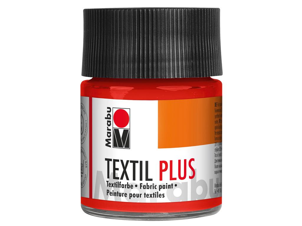 Tekstiilivärv Plus 50ml 030 light vermilion