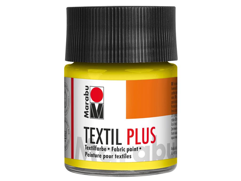 Tekstiilivärv Plus 50ml 020 lemon