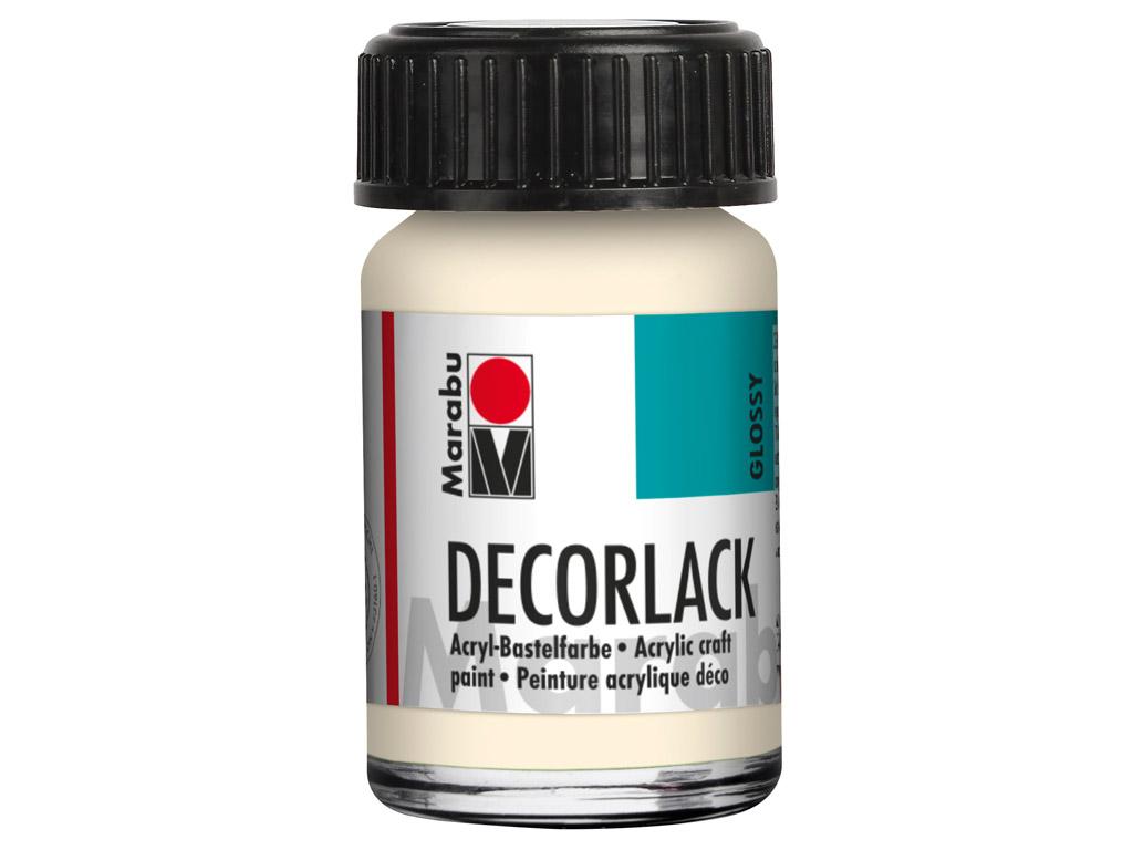 Dekoorvärv Decorlack 15ml 271 ivory
