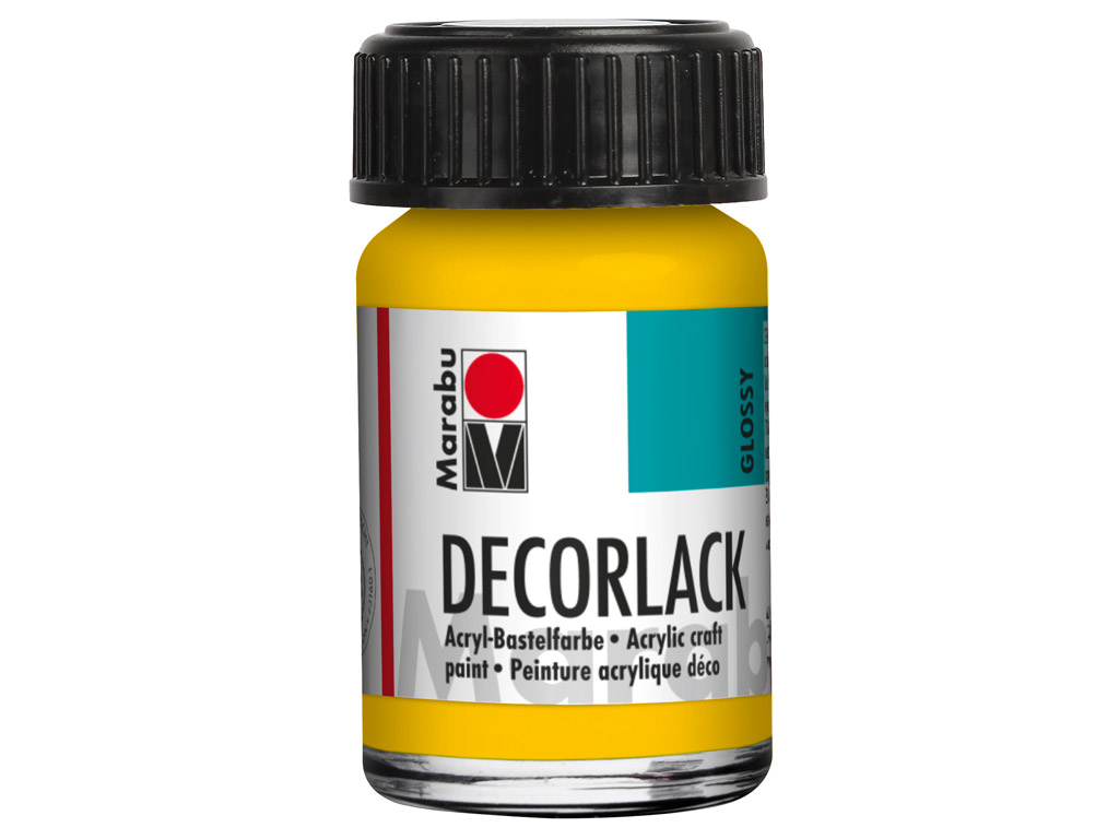 Dekoorvärv Decorlack 15ml 021 medium yellow