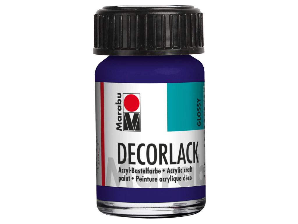 Dekoorvärv Decorlack 15ml 051 dark violet