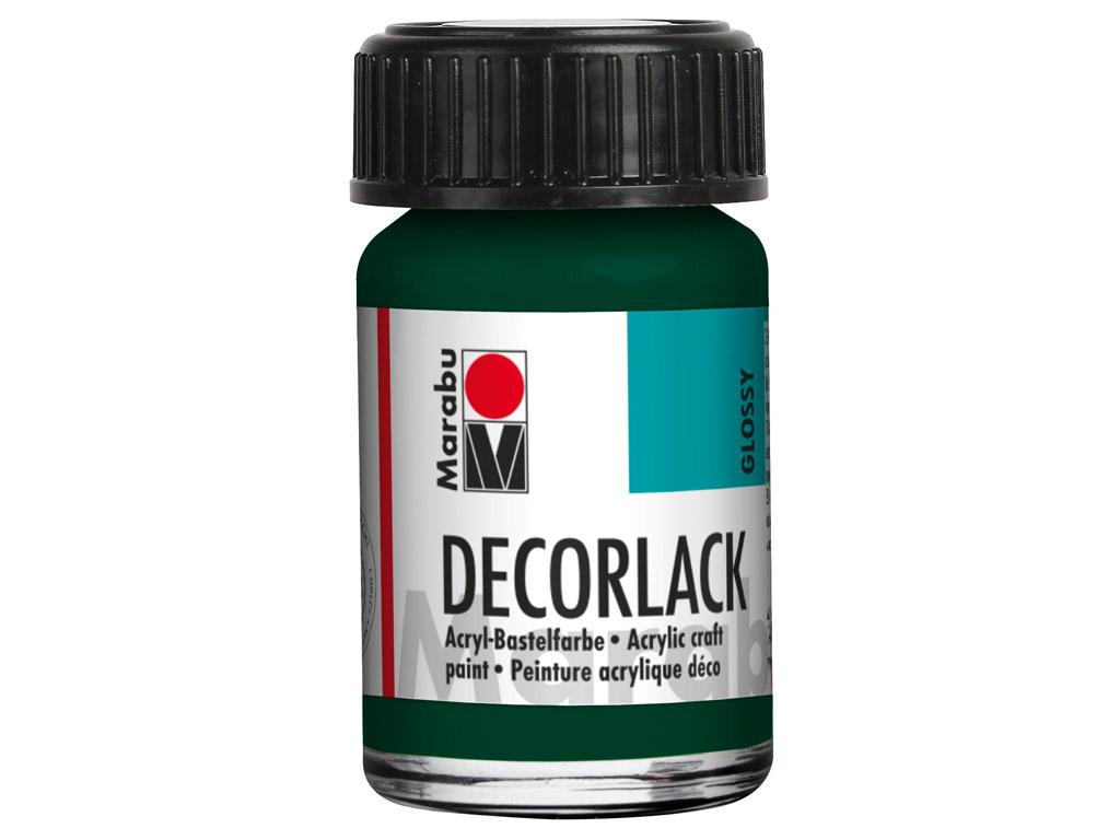Dekoorvärv Decorlack 15ml 075 pine green