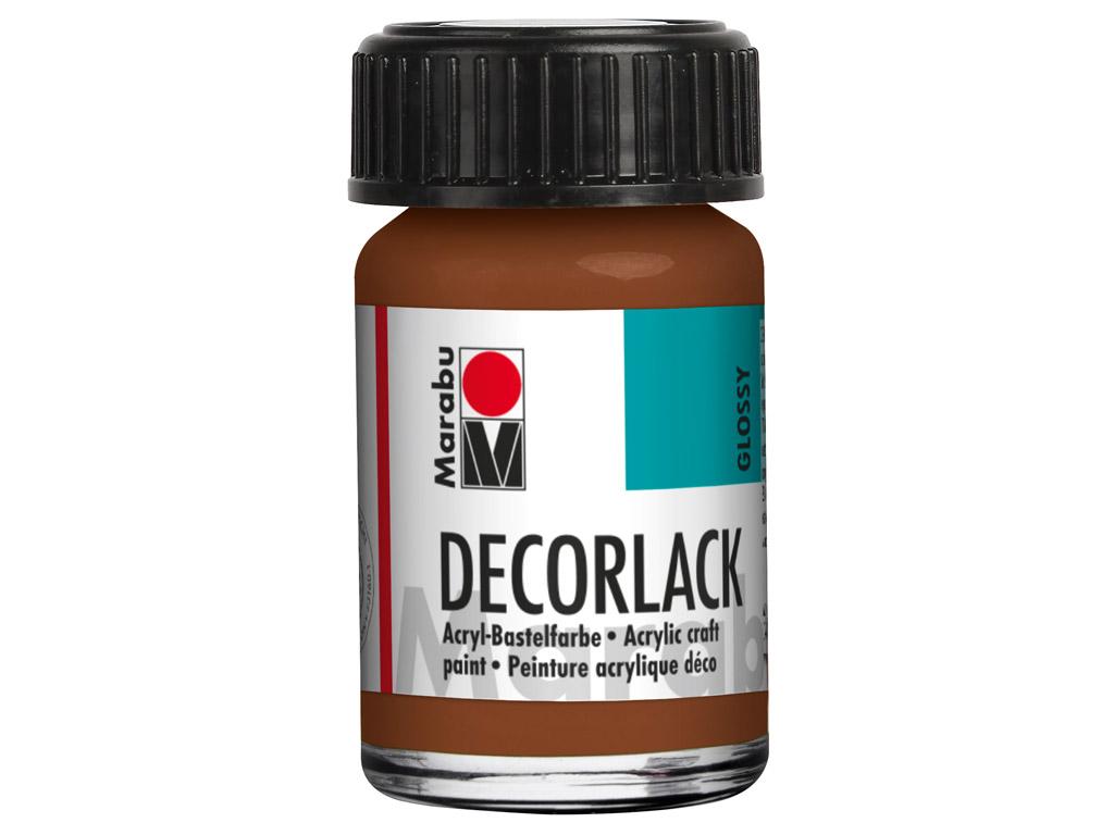 Dekoorvärv Decorlack 15ml 047 light brown
