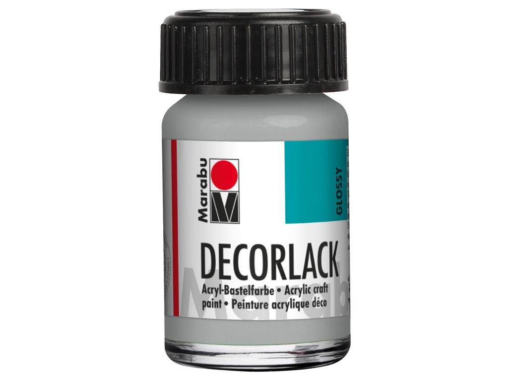 Dekoorvärv Decorlack 15ml 782 metallic-silver