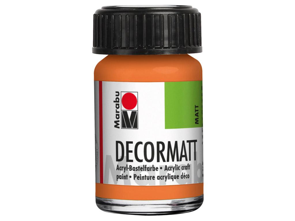 Dekoorvärv Decormatt 15ml 013 orange