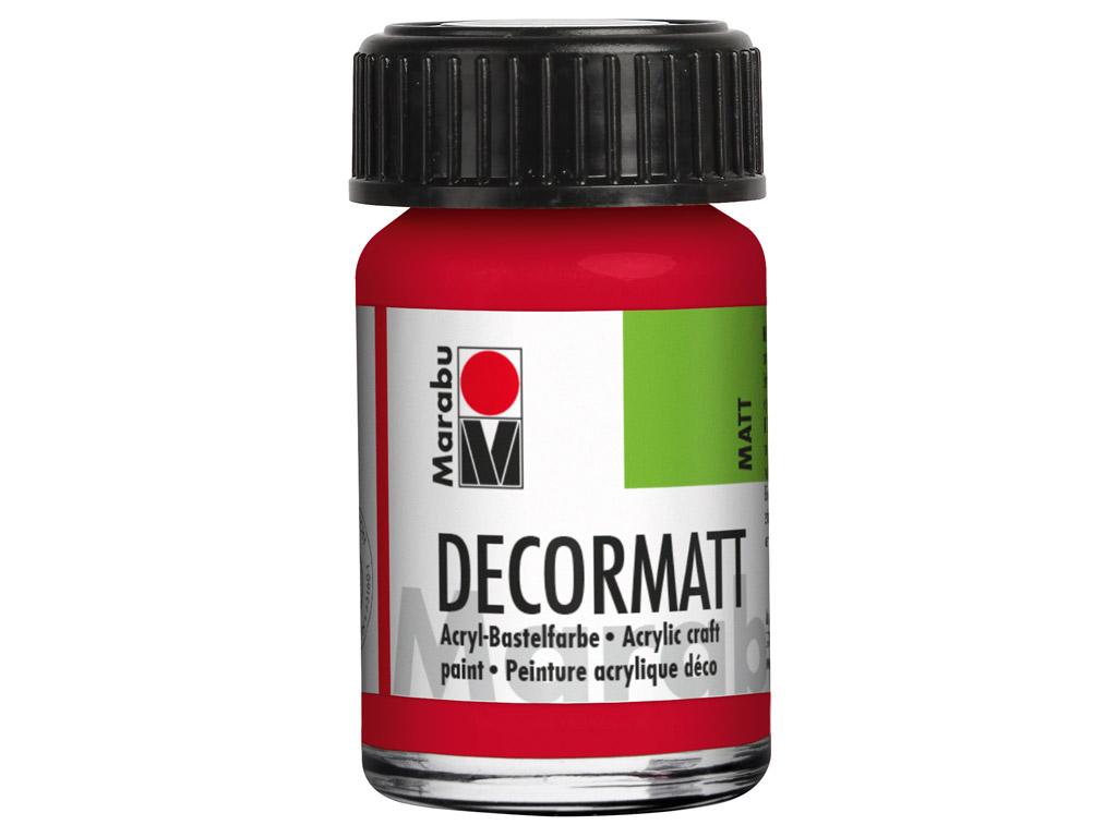 Dekoorvärv Decormatt 15ml 031 cherry red