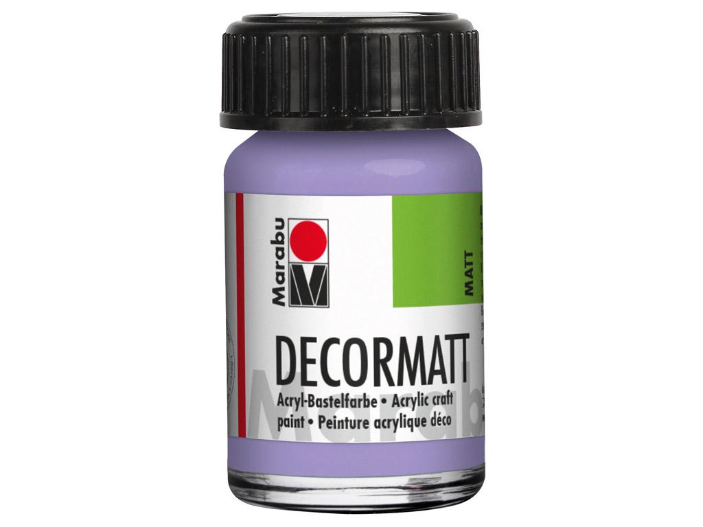 Dekoorvärv Decormatt 15ml 007 lavender