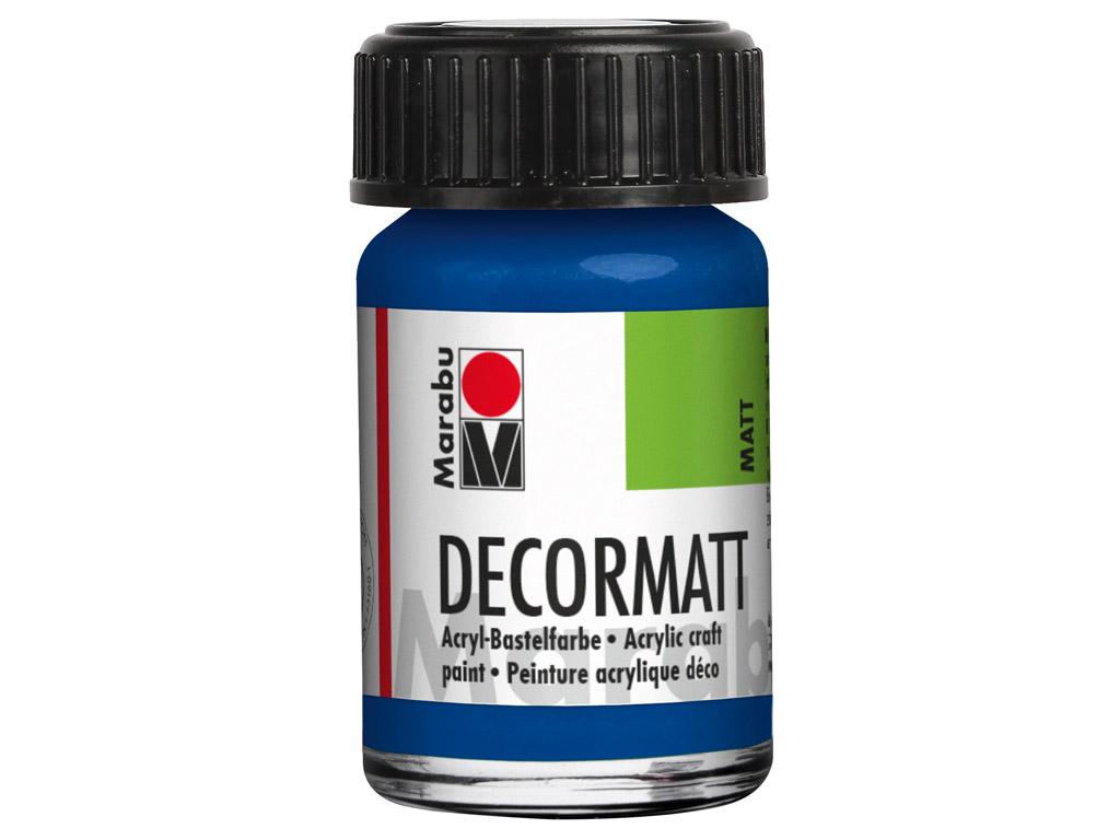 Dekoorvärv Decormatt 15ml 257 royal blue