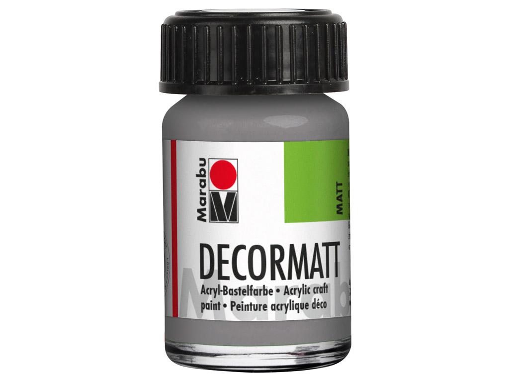 Dekoorvärv Decormatt 15ml 278 light grey