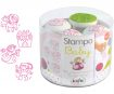 Stamp Aladine Stampo Baby 4pcs Princess + ink pad pink