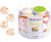 Stamp Aladine Stampo Baby 4pcs Engines + ink pad orange