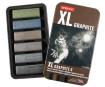Grafiitpulk Derwent XL 6tk metallkarbis