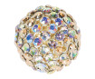 Crystal mesh ball Swarovski 40519 19mm LSMU light silk multi