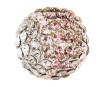 Crystal mesh ball Swarovski 40519 19mm SIDE silk degradee