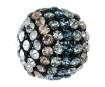Crystal mesh ball Swarovski 40519 19mm BKDE black degradee