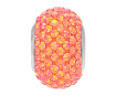 Krištolinis karoliukas Swarovski BeCharmed Pave 80101 14mm 001API crystal astral pink