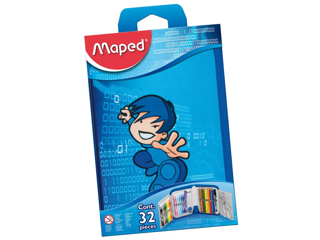 Pinal Maped 1 lukuga täidetud Karate blistril