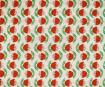 Nepaali paber 51x76cm Tulip Red/Green on Cream