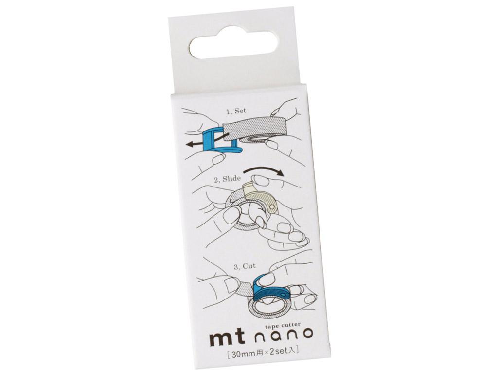 Washi dekoratyvi lipni juostelės peiliukas mt nano 30mm 2vnt.