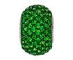 Krištolinis karoliukas Swarovski BeCharmed Pave 80101 14mm 260 dark moss green