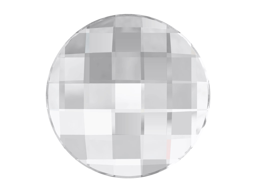 Krištolas Swarovski Flat Back No Hotfix apvalus 2035 10mm 001 crystal